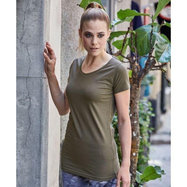 2c76ff0c4d45 Dámské tričko Tee Jays extra dlouhé