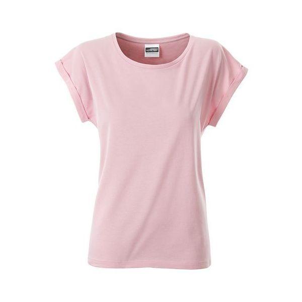 Dámské tričko z bio bavlny James (+) Nicholson  9526b0d8c5