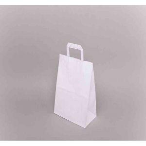 Papírová taška plochým uchem 220x100x360