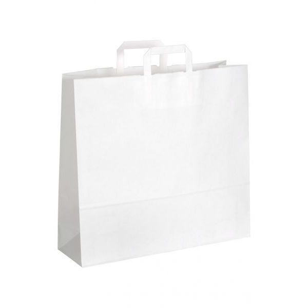 Papírová taška plochým uchem 450x170x480