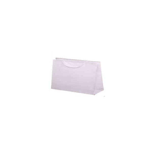 Papírová eko taška s textilním uchem 350x90x230
