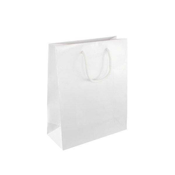 Papírová taška lesklá A5 160x70x220