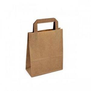 Papírová taška s plochým uchem 180x80x220