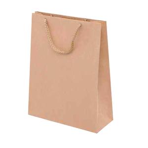 Papírová eko taška s textilním uchem 240x90x330